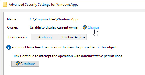 Change-Ownership-of-WindowsApps