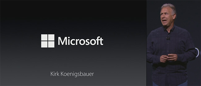Microsoft-Introduction-Apple-event