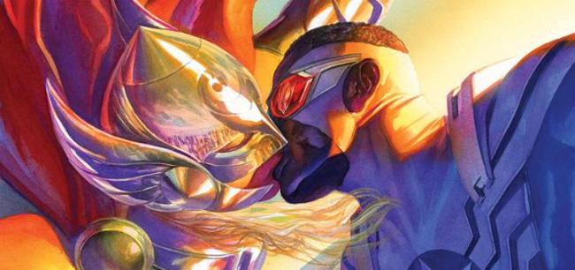 Thor-Captain-America-kissing-Marvel-comics