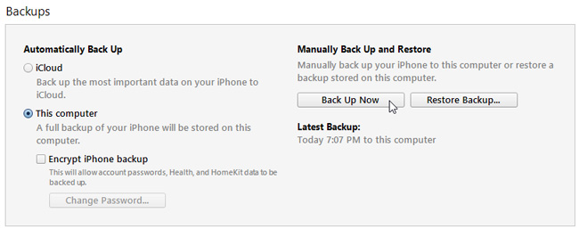 iTunes-backup-iOS-local