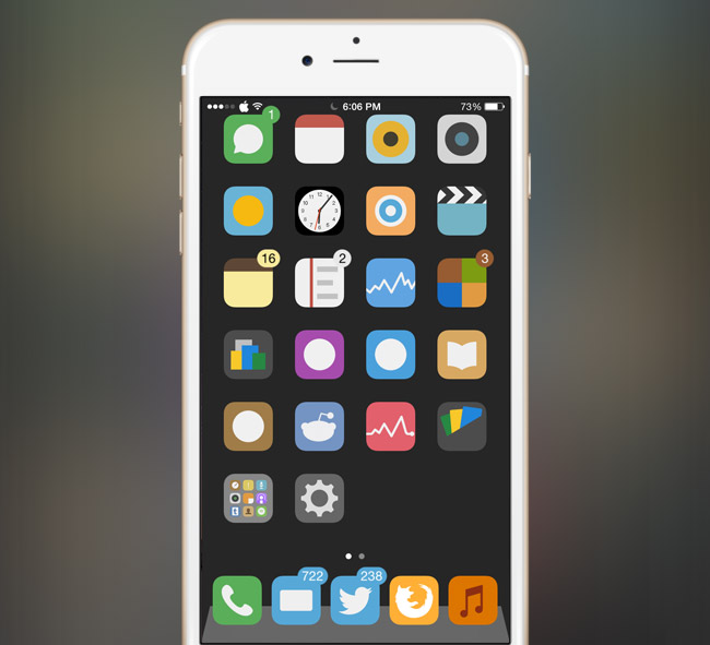 Flat6-iOS-9-best-free-themes