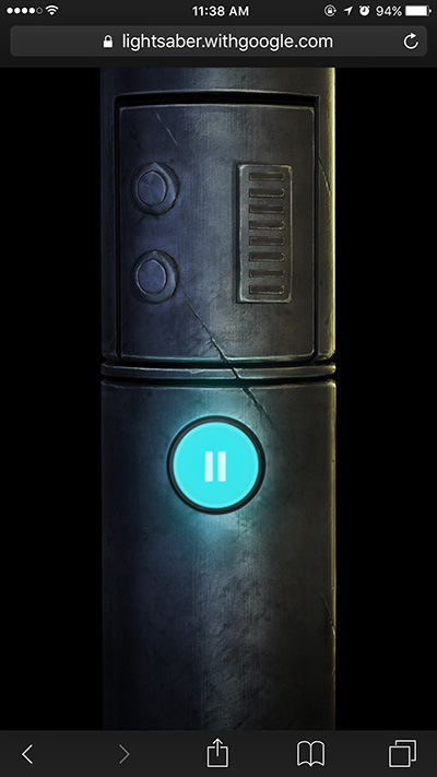 Googel-Lightsaber-Escape-smartphone-browser