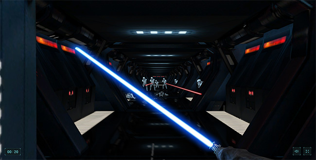 Lightsaber-Escape-Google-Star-Wars-game