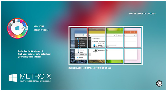 Metro-X-Windows-10-Theme