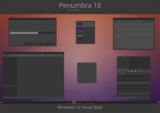Penumbra-10-Ubuntu-theme-for-Windows-10