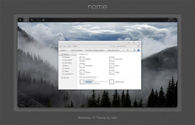 nome-Windows-10-theme