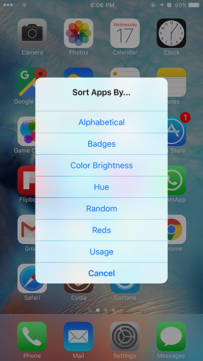 Automatically-sort-iPhone-iPad-Home-screen-app-icons-iOS-9-free-Cydia-tweak