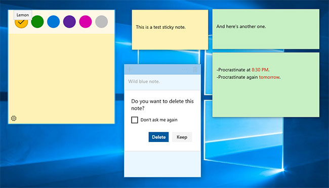 how to add sticky notes to pdf
